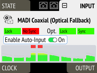 Coaxial Auto Input